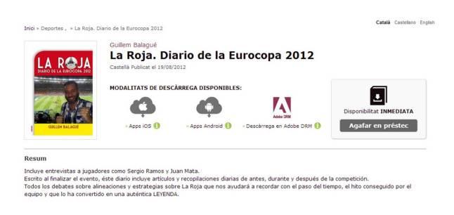 la roja diario eurocopa 2012