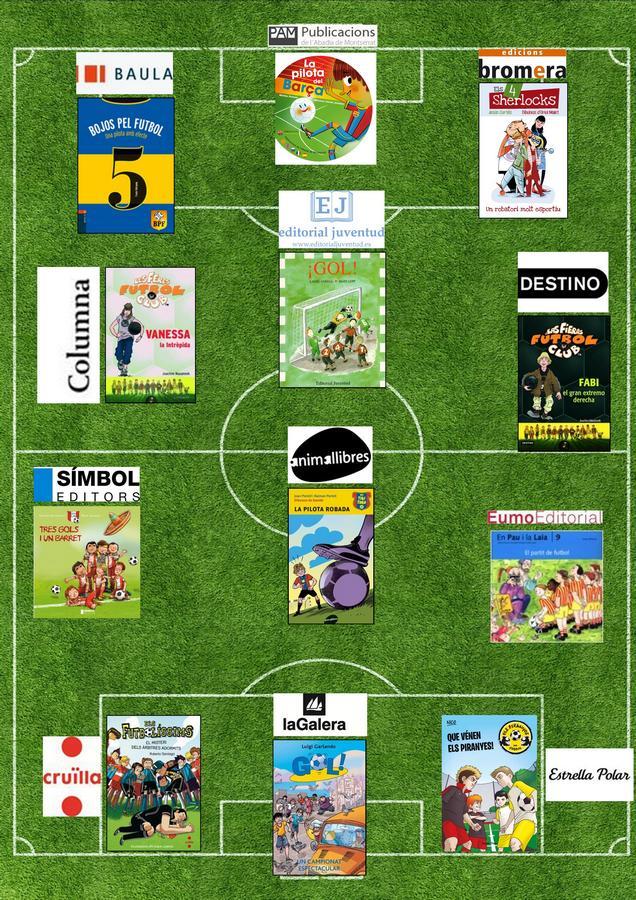 Editoriales futboleras libros infantiles - copia