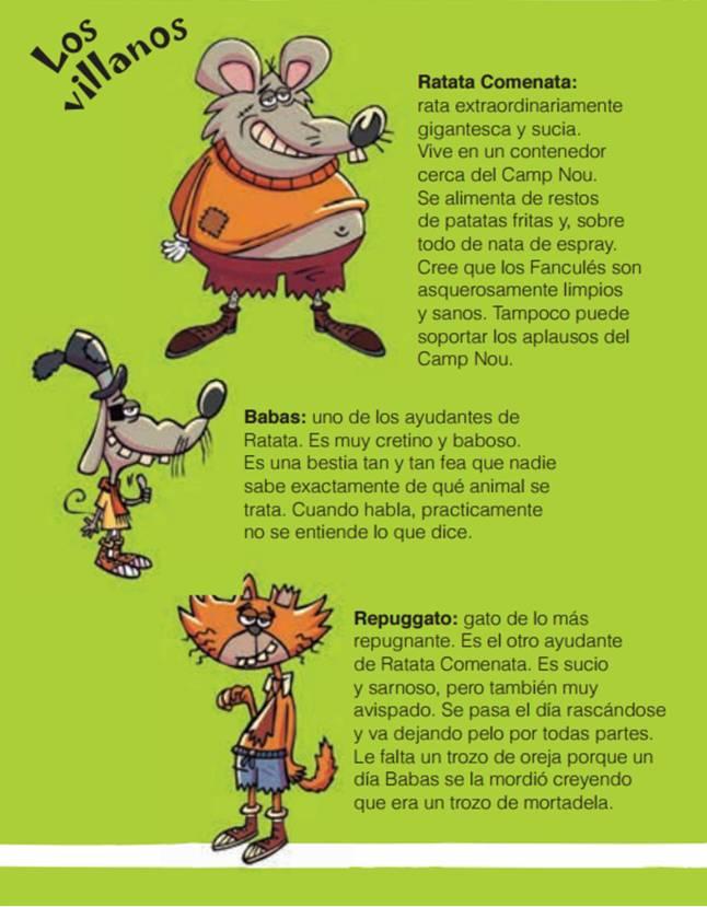 Fanculés personajes 3
