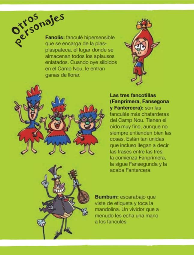 Fanculés personajes 4