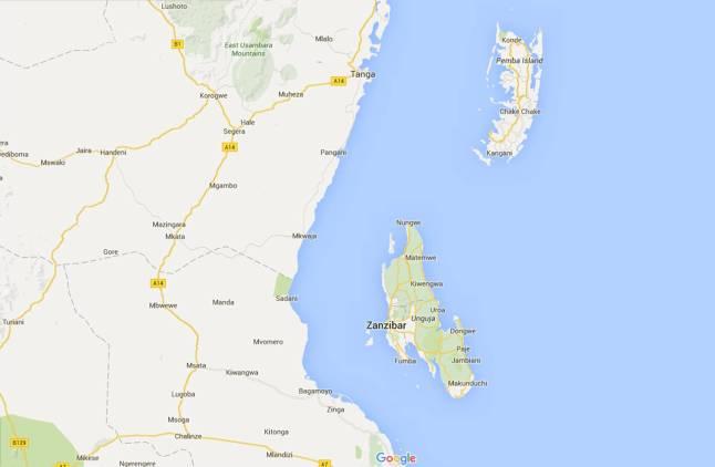 Zanzibar-Pemba-Unguja, escenario de Son sobtada