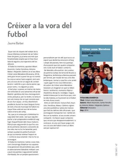 Créixer a la vora del futbol - Jaume Barber