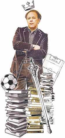 Ilustración Javier Marías fútbol