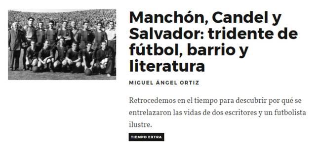 Manchon Candel Salvador tridente