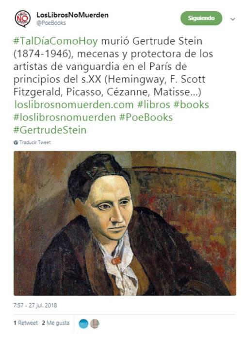 27-07-2018-Gertrude Stein