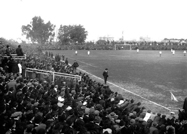 Parque Central encuentro entre los equipos de Nacional y Peñarol.