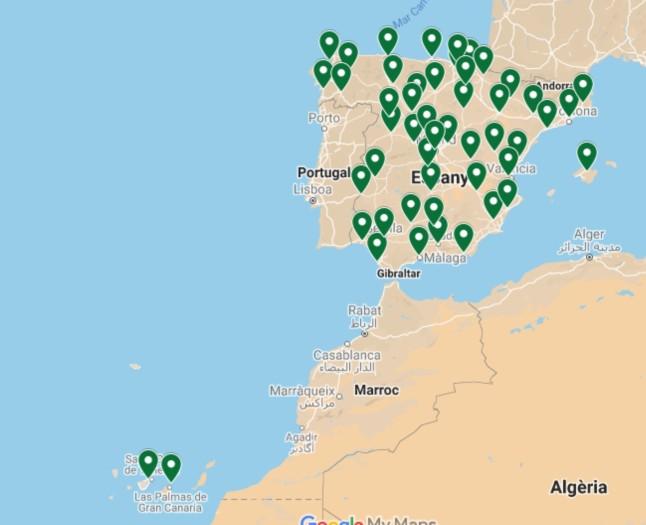 Mapa Provincial Fútbol y Literatura